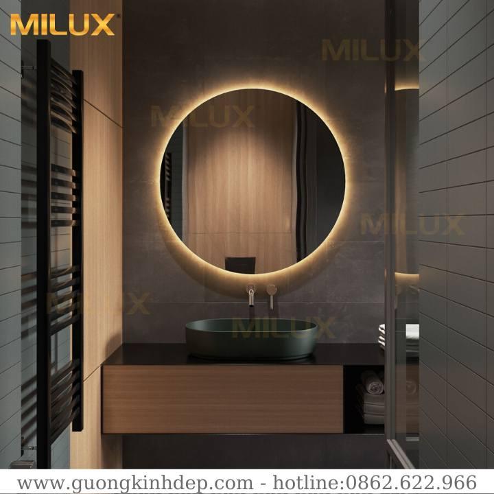 Gương Có Đèn Led Phòng Tắm Hiện Đại Milux ML70-02