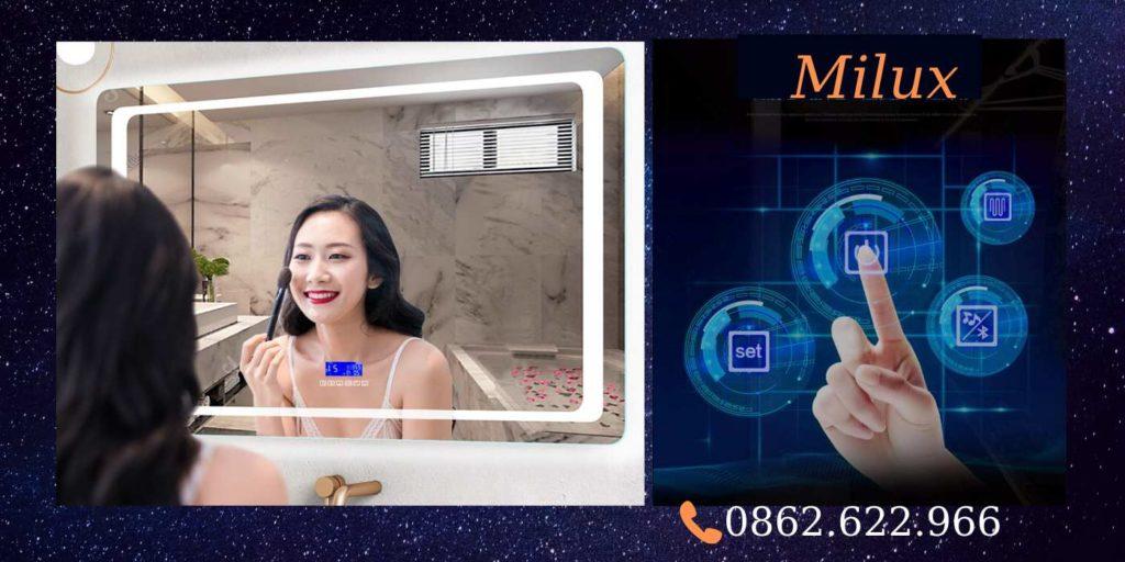 Mua gương nhà tắm đẹp, chất lượng tại Bắc Ninh giá rẻ